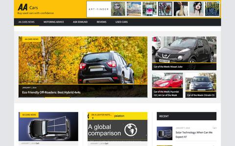Screenshot of Press Page vcars.co.uk - AA Cars | Latest Used Car News in UK - captured Jan. 10, 2016