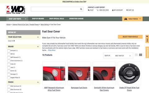 Fuel Door Cover | 4wd.com