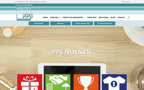 Screenshot of Home Page pps-nuenen.nl - Home - PPS Nuenen - captured Sept. 12, 2017