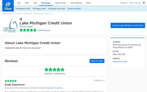 Lake Michigan Credit Union Ratings and Reviews   Zillow