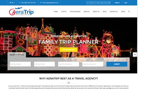 AeraTrip.com - Cheapest Airfare to India from US, Air Tickets, Cheap Airfare, Lowest Flights Tickets