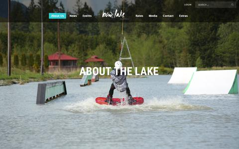 Screenshot of About Page bowlakewatersports.com - About Us | Bow Lake Watersports - captured July 31, 2016