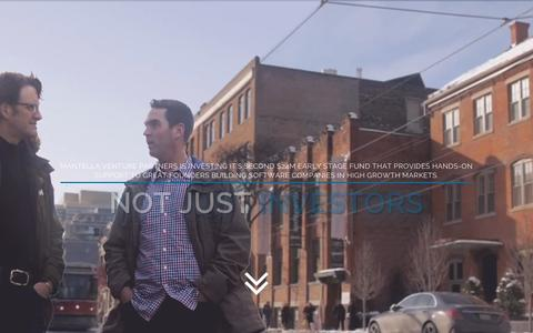 Screenshot of Home Page mantellavp.com - Mantella   Venture Partners - captured Sept. 11, 2015