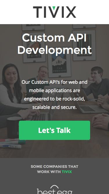 Custom API Development