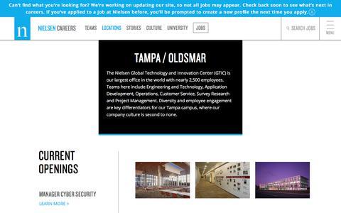 FL - Tampa - Oldsmar | Nielsen Careers