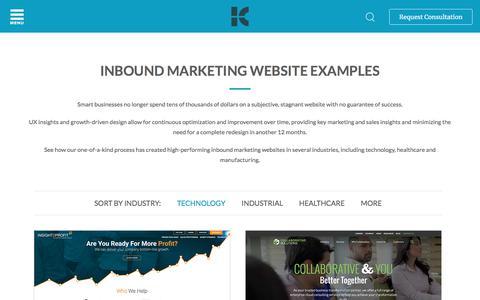 Kuno Creative | Inbound Marketing Website Examples