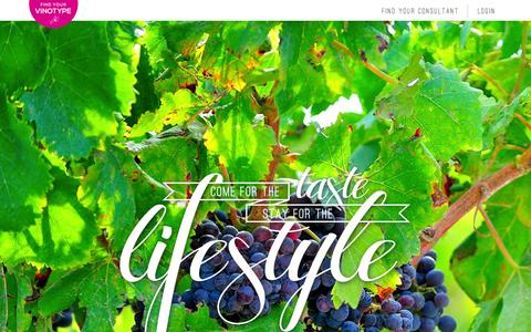 Screenshot of Home Page wineshopathome.com - WineShop At Home - captured Sept. 17, 2014