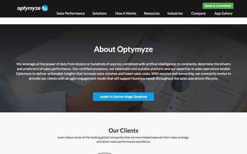 Overview - Optymyze