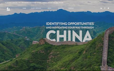 Screenshot of Home Page 1421.consulting - 1421 Consulting Group |Assisting companies in China - captured Feb. 27, 2016
