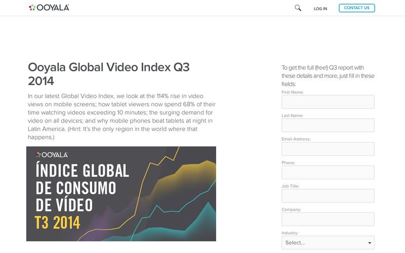 Ooyala Global Video Index Q3 2014