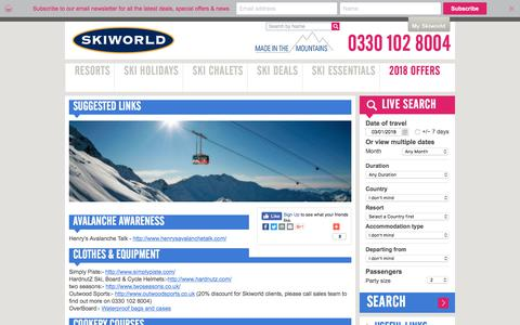 Suggested Links | Skiworld