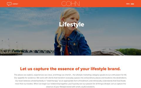 Lifestyle Marketing Agency | COHN Marketing