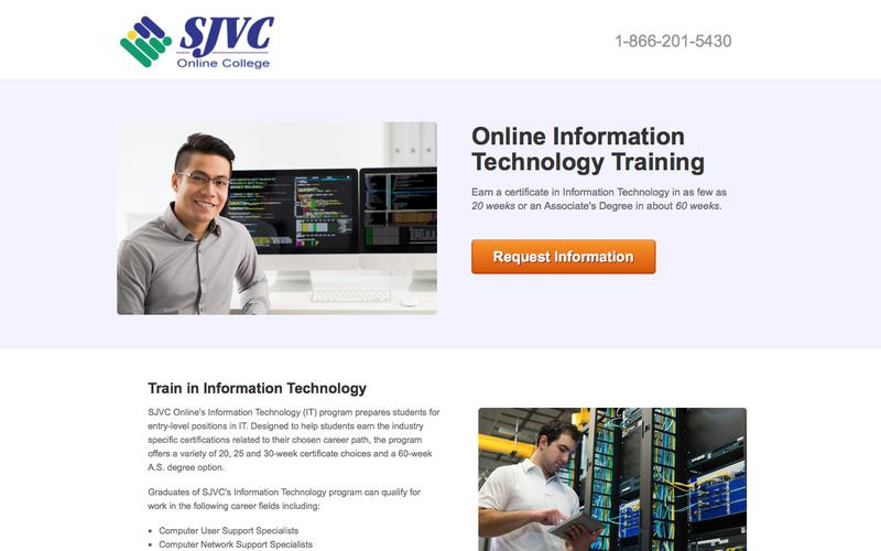Train to Become an Information Technology