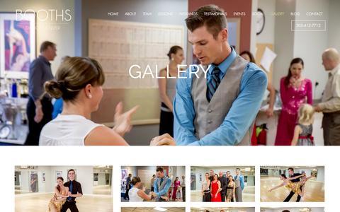 Screenshot of Press Page boothdance.com - Gallery - Booth's Dance Denver - captured Oct. 5, 2014