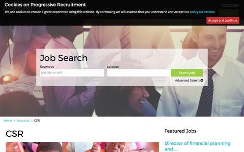 progressiverecruitment.com | CSR