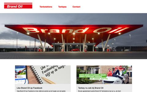 Screenshot of Home Page brandoil.nl - Homepage | Argos Tankstations - captured Dec. 9, 2018