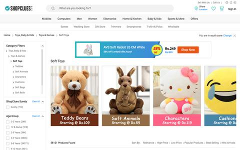 Soft Toys for Kids - Buy Online Stuffed Toys for Kids in India at Best Prices
