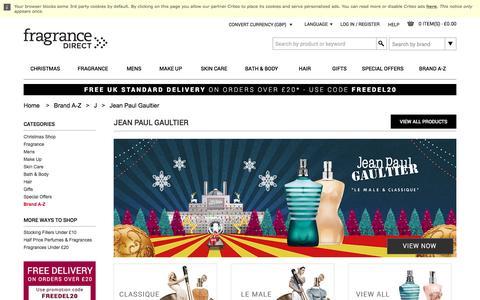 Jean Paul Gaultier Perfume & Fragrance | Fragrance Direct