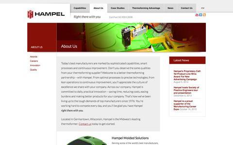 Plastics Thermoforming Manufacturer | Hampel