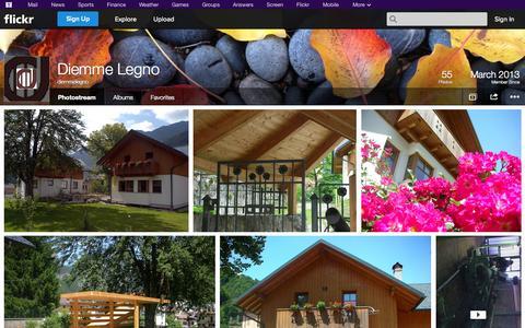 Screenshot of Flickr Page flickr.com - Flickr: diemmelegno's Photostream - captured Oct. 23, 2014