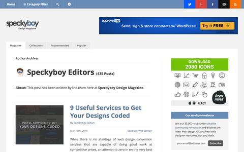 Speckyboy Editors, Author at Speckyboy Design Magazine
