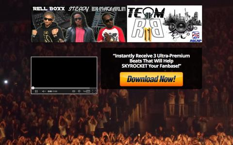 Screenshot of Signup Page teamrnbmusic.com - Free Ultra-Premium Beat CD From Team RnB! — Team RnB Music Production LLC   Buy Exclusive R&B and Rap Beats   Premium Beat Subscription   Music Artist Membership - captured Oct. 7, 2014