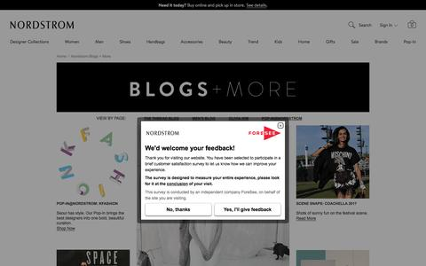 Nordstrom Fashion Blogs, Style, Events & Culture