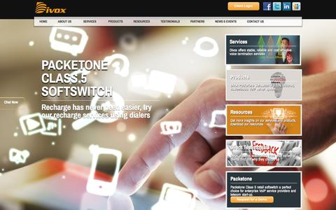 Screenshot of Home Page divoxmedia.com - Divox International Inc. - captured Oct. 5, 2014