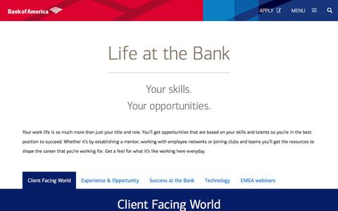 What It's Like to Work at Bank of America