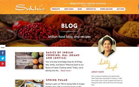 Screenshot of Blog sukhis.com - Blog – Sukhis - captured April 15, 2019