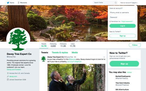 Davey Tree Expert Co (@DaveyTree) | Twitter