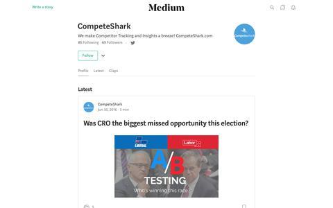 CompeteShark – Medium