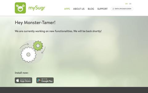 Maintenance | mySugr.com