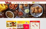 Old Screenshot Bojangles' Restaurants, Inc. Home Page