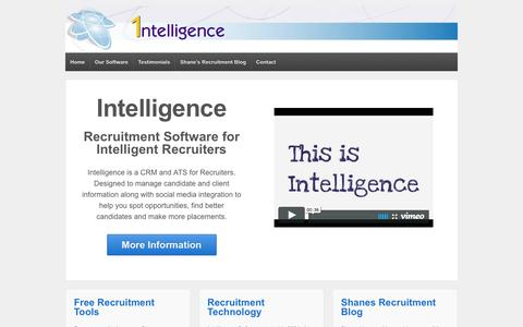 Intelligence Recruitment Software - Recruitment Software and Recruiting