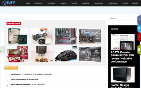 Screenshot of Site Map Page reviewstudio.net - Site map @ReviewStudio.net - captured Sept. 19, 2014