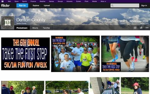 Screenshot of Flickr Page flickr.com - Flickr: Denton County's Photostream - captured Oct. 22, 2014