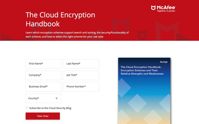 The Cloud Encryption Handbook