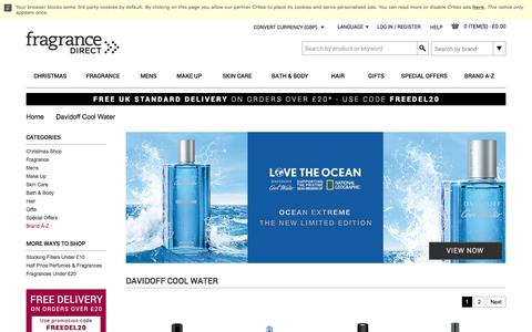 Davidoff Cool Water | Fragrance Direct