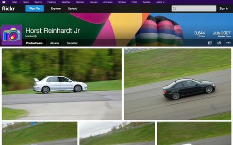 Screenshot of Flickr Page flickr.com - Flickr: hreinhardtjr's Photostream - captured Oct. 26, 2014