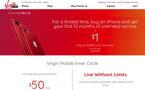 Plans | Virgin Mobile