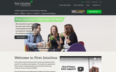 First Intuition Accountancy Tuition Provider