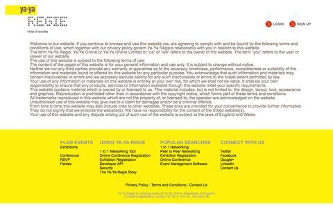 Screenshot of Terms Page ya-yaregie.com - Ya-Ya Regie - captured Sept. 30, 2014