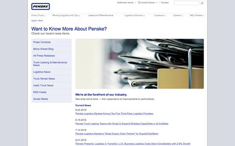 Penske Newsroom - Go Penske.com