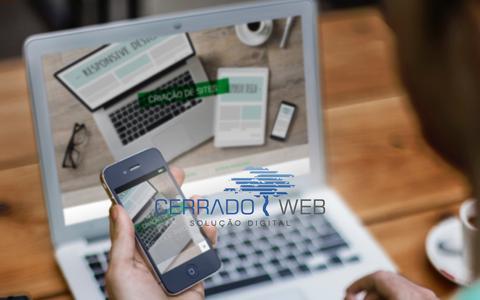 Screenshot of Home Page cerradoweb.com - CerradoWeb - captured Dec. 8, 2015