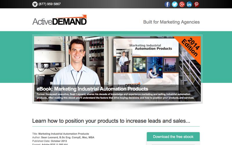 Marketing Industrial Automation Products