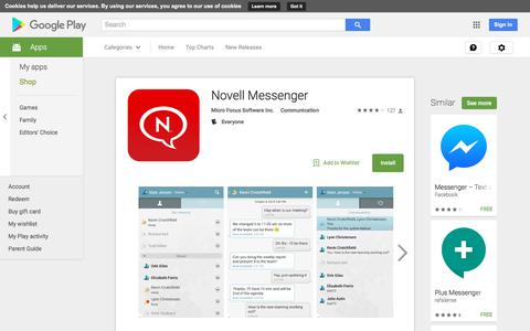 Novell Messenger - Android Apps on Google Play