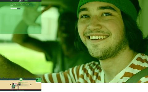 Screenshot of Home Page getbellhops.com - Bellhops | Student Movers for Local Moving - captured Sept. 11, 2014