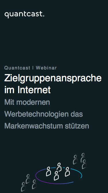 "Webinar ""Zielgruppenplanung 2018"""