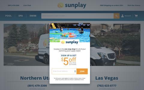 Screenshot of Locations Page sunplay.com - Locations — Sunplay - captured Oct. 18, 2018